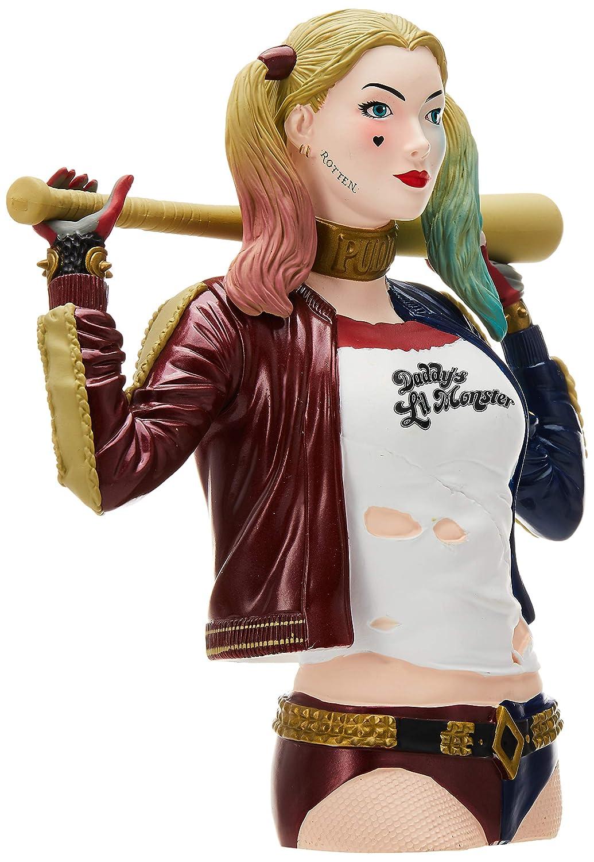 DC Suicide Squad Harley Quinn Bust Bank Bust Figure Monogram International 45688