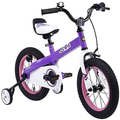 Royalbaby Honey Kid's Bike, Perfect Gift For Kids, Boy's Bike, Girl's Bike, 12-14-16-18 inch wheels, Red or Lilac