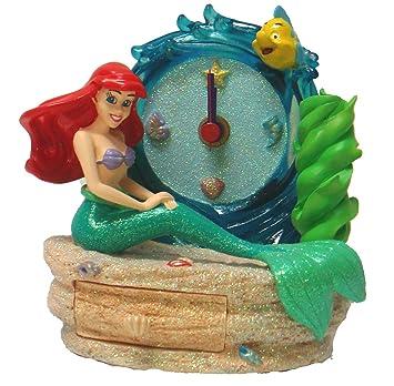 Juegos Disney Wreloj Y esJuguetes Sirenita Holder Pen CajónAmazon f6Ybv7gmyI