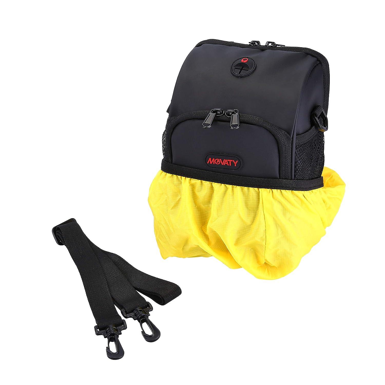 capacit/à 3L Movaty Rhinowalk Borse Bici MTB Impermeabile Bicicletta Borse da Manubrio per MTB Bici con,Mountain Manubrio,Tracolla Removibile e Copertura Pioggia