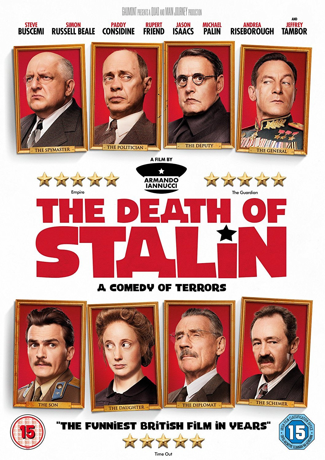 Amazon.com: The Death of Stalin [DVD] [2017]: Jason Isaacs, Steve Buscemi, Rupert Friend, Michael Palin, Andrea Riseborough, Olga Kurylenko, Simon Russell Beale, Jeffrey Tambor, Armando Iannucci: Movies & TV