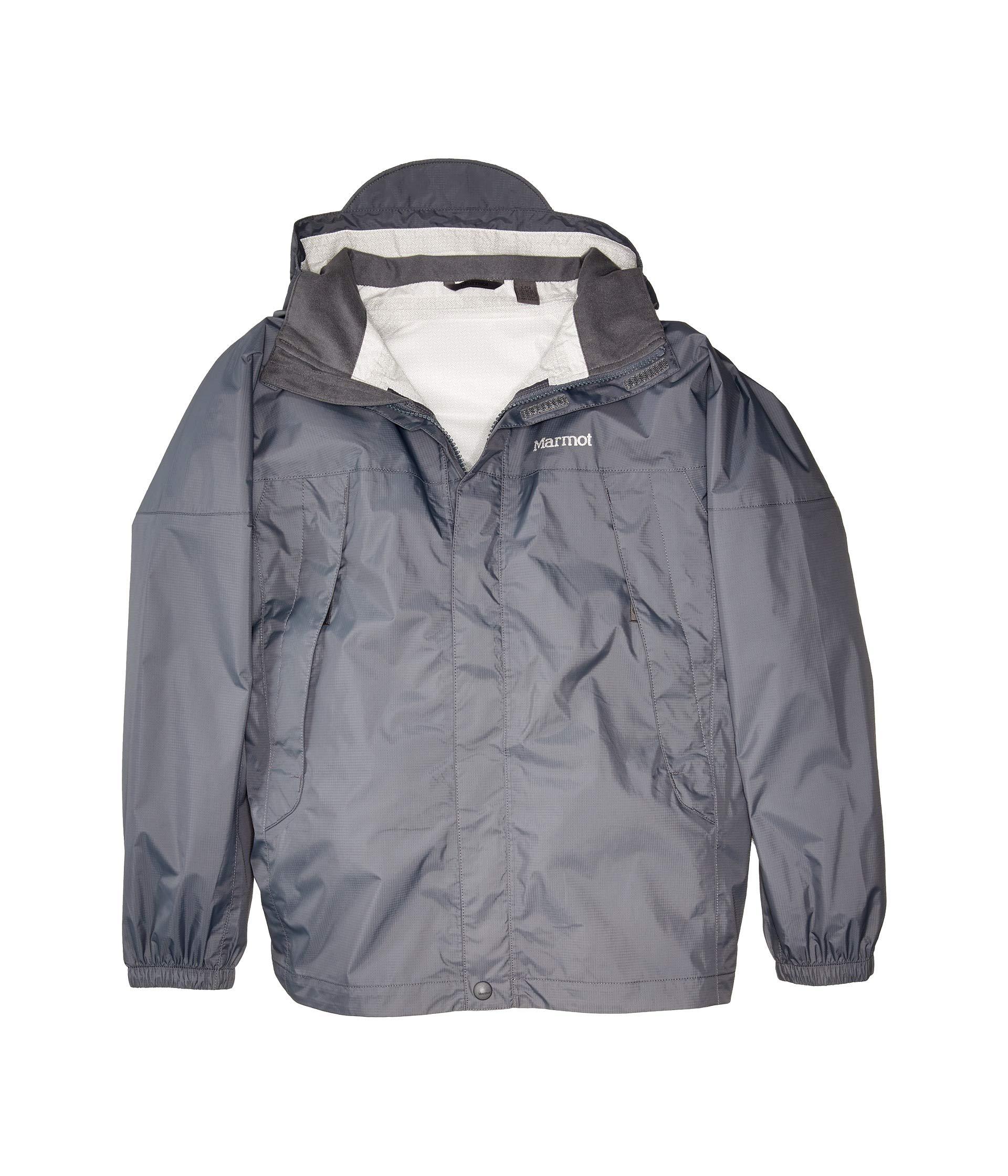 Marmot Kids Boy's PreCip¿ Jacket (Little Kids/Big Kids) Steel Onyx Small