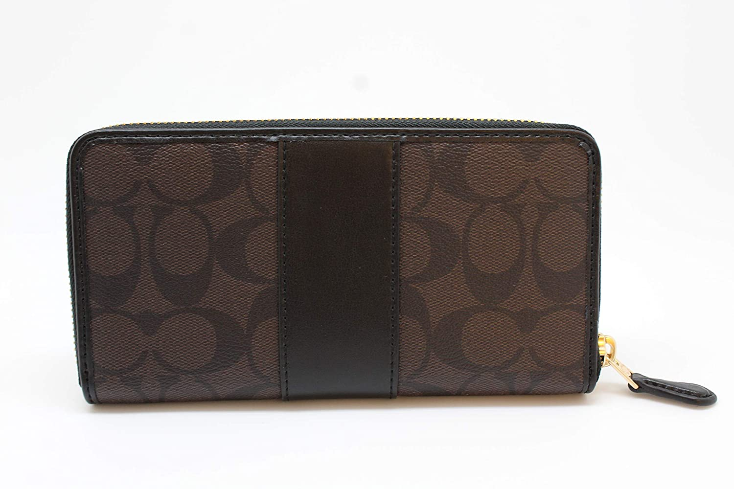 cheaper d5a8c 72d11 norway brown and black coach wallet 5cce1 8b1e1