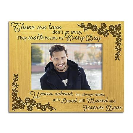 Those We Love In Loving Memory Solid Wood Photo Frame Memorial