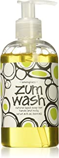 product image for Indigo Wild Zum Wash Natural Hand & Body Liquid Soap, Lemon Grass, 8 Fluid Ounces