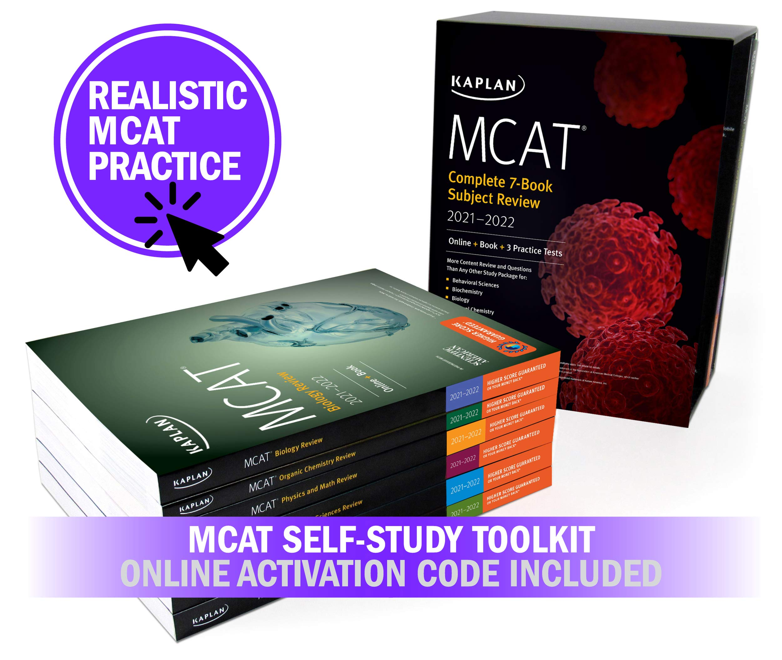 MCAT Self-Study Toolkit 2021-2022 ( All 7 books)
