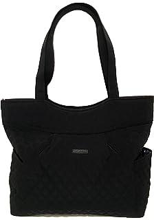 32dc920b4e6a Amazon.com: Vera Bradley Pleated Tote Zip Top Bag Classic Navy: Shoes