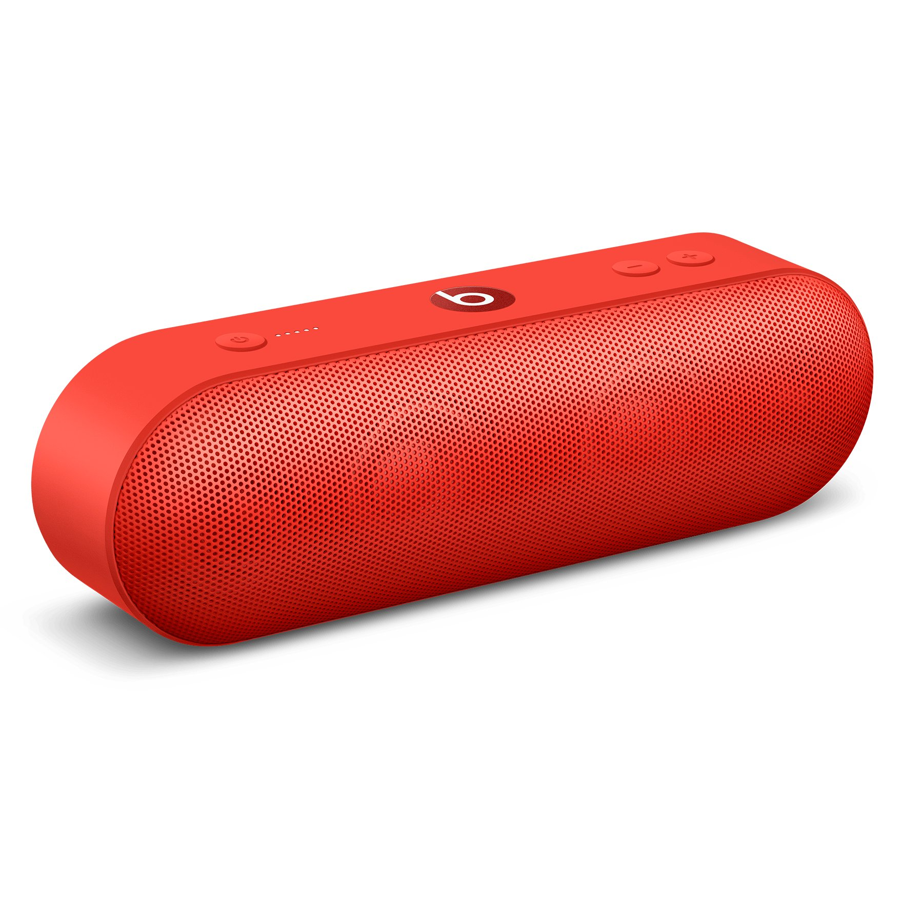 BEATS P.l.L.L.((+)) Wireless Bluetooth Portable Speaker with 1.5m Lightning to USB-A charging cable and 12.5W Power Adapter (Red)