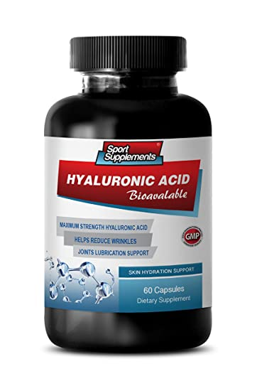 Hyaluronic acid tablets for skin
