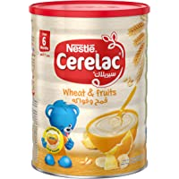 Nestle Cerelac Infant Cereal Wheat & Fruits Tin 1kg