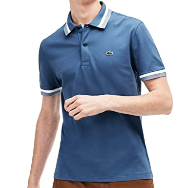 c828e2ad0 Lacoste PH3185-00 Polo T-Shirt King Flour-Perline 9 King Flour ...