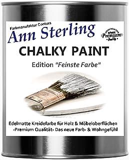 Kreidefarbe Shabby Chic Lack Landhaus Stil Vintage Look Chalky