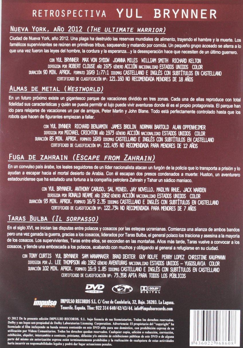 Amazon.com: Yul Brynner : Retrospectiva: Cine y TV