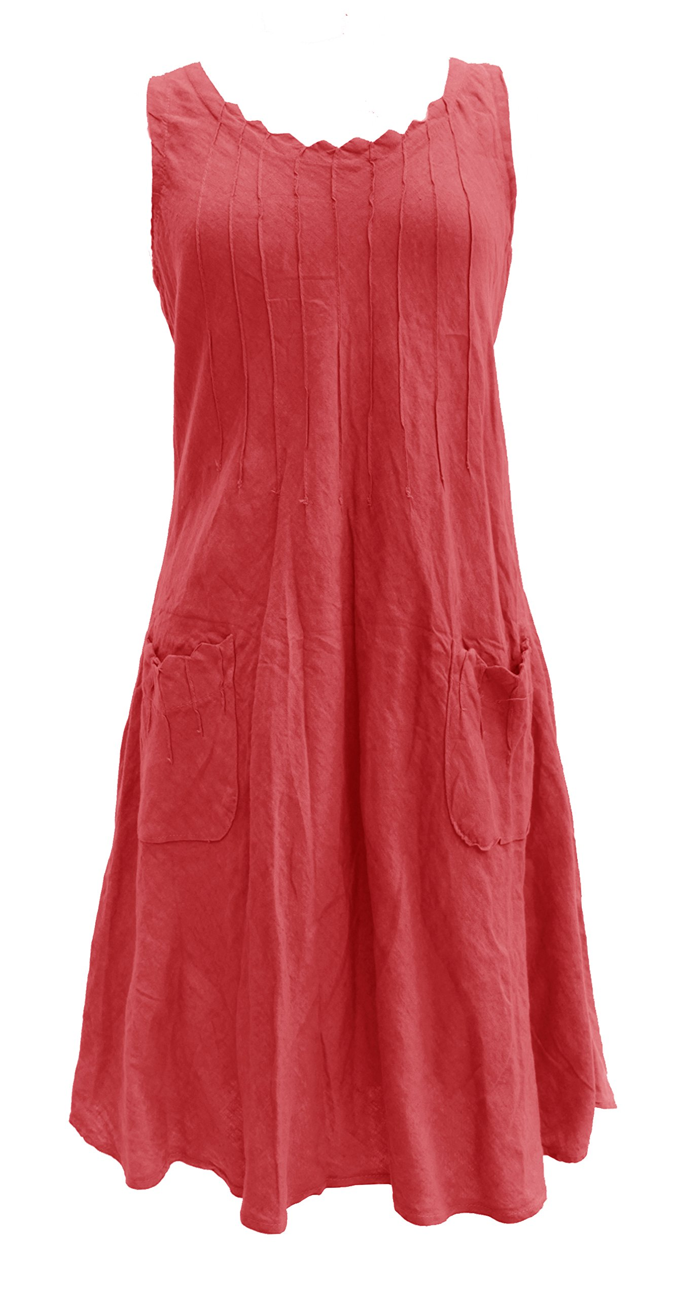 Women's Linen Dresses: Amazon.co.uk