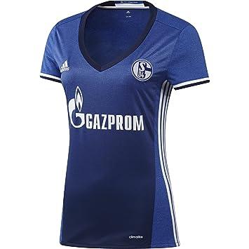 adidas S04 H JSY W - 1st Football kit T-Shirt for of Schalke FC 2015 ... 936121e3b8