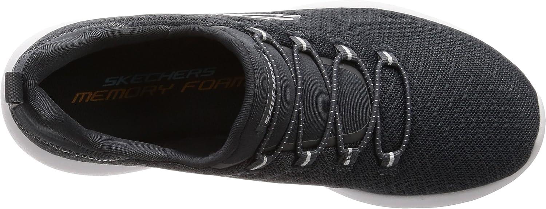 Skechers Damen 12980 Sneaker, schwarz, 34 EU Holzkohle