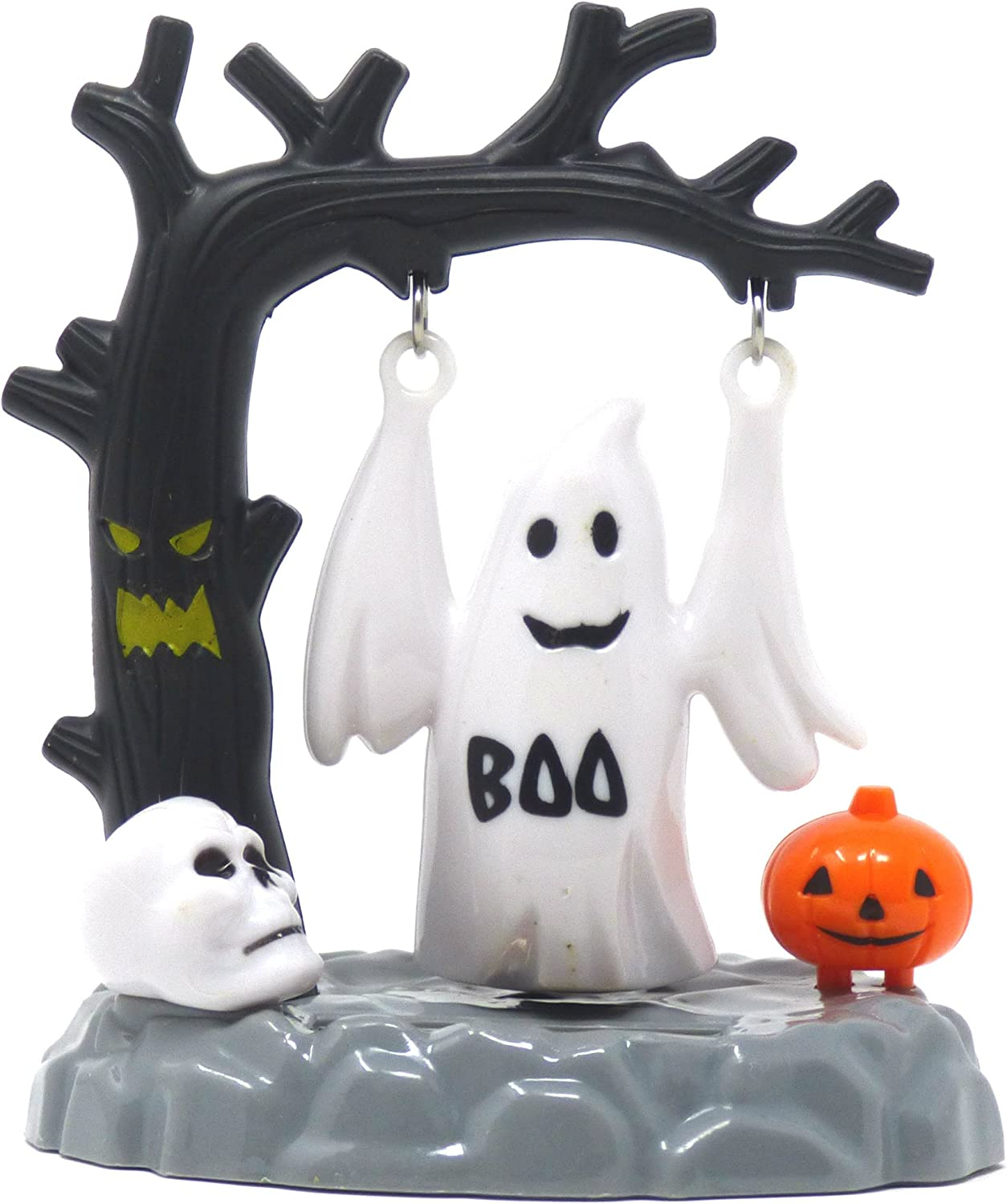 BRAND NEW PERFECT FOR HALLOWEEN!!! SOLAR POWERED SWINGING GHOST
