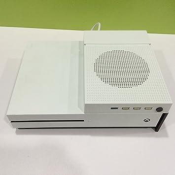 Soporte de Base para Xbox One S y Xbox One Slim, Soporte Vertical Base Soporte Soporte Soporte + Enfriador + USB HUB para Xbox One S: Amazon.es: Electrónica