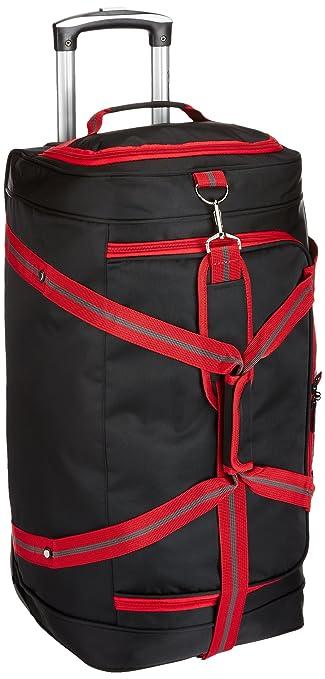 6c77fb2fbd10 Princeware Sparta Polyester 65 cms Black Travel Duffle (7713- BK)   Amazon.in  Bags