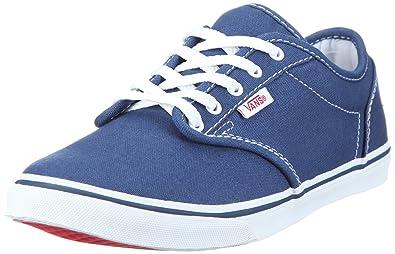 fafbc922e5e3 Vans Women s W ATWOOD LOW blk ocean white Low-Top Sneakers Blue Size ...