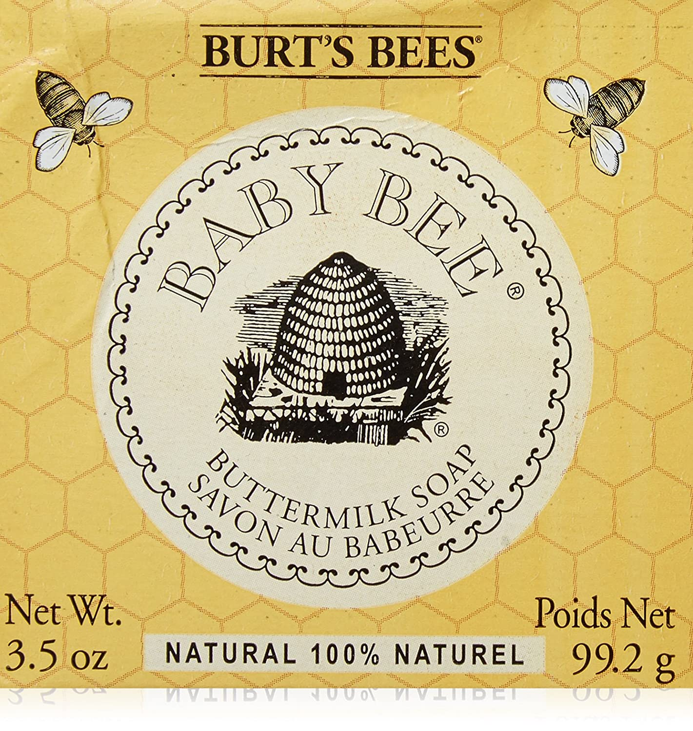 Burt's Bees Baby Bee Buttermilk Soap 3.50 oz (Pack of 4) BURT' S BEES