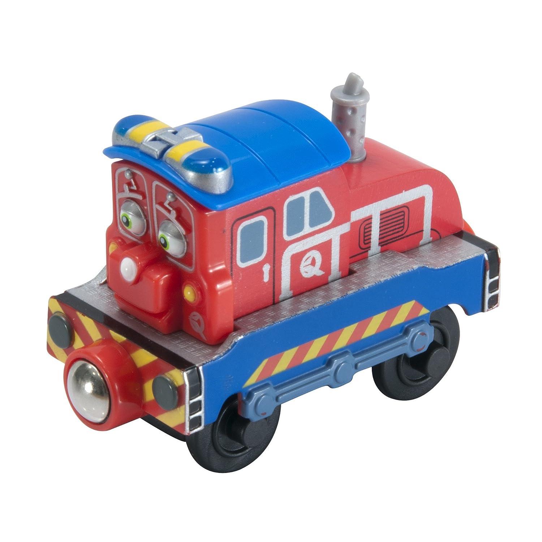 Amazon.com: Chuggington Wooden Railway Chug Patroller Calley: Toys ...