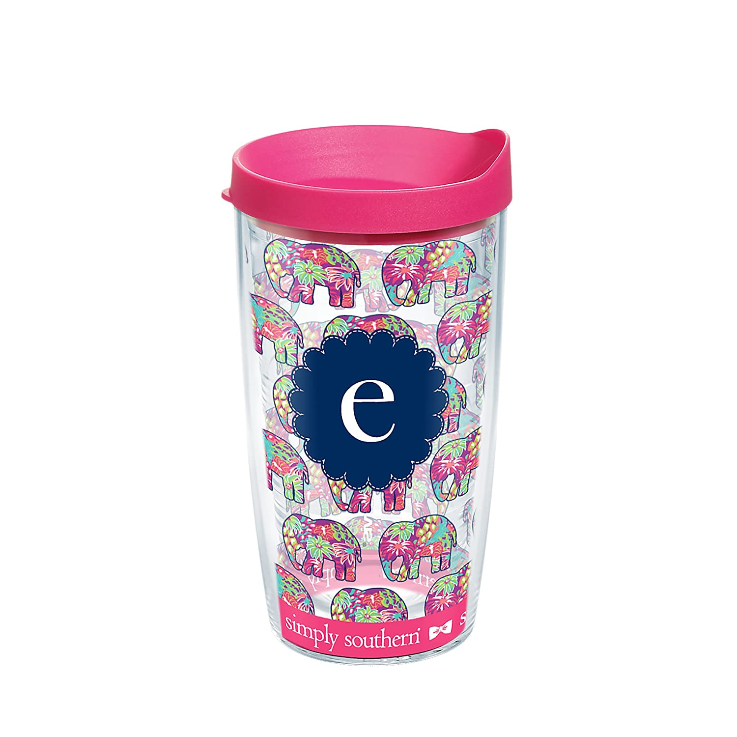 7aa916de376 Tervis 1241324 SIMPLY SOUTHERN Tumbler with wrap 16oz Clear