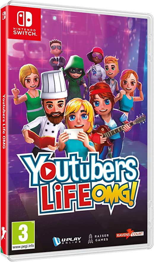 Nintendo Youtubers Life OMG Edition, Switch vídeo - Juego (Switch ...