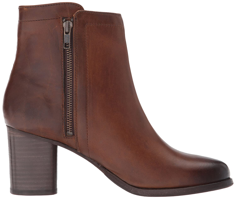 FRYE Women's Addie Double Zip Boot B01N0ZOVYL 8.5 B(M) US|Whiskey Oil Tanned Full Grain