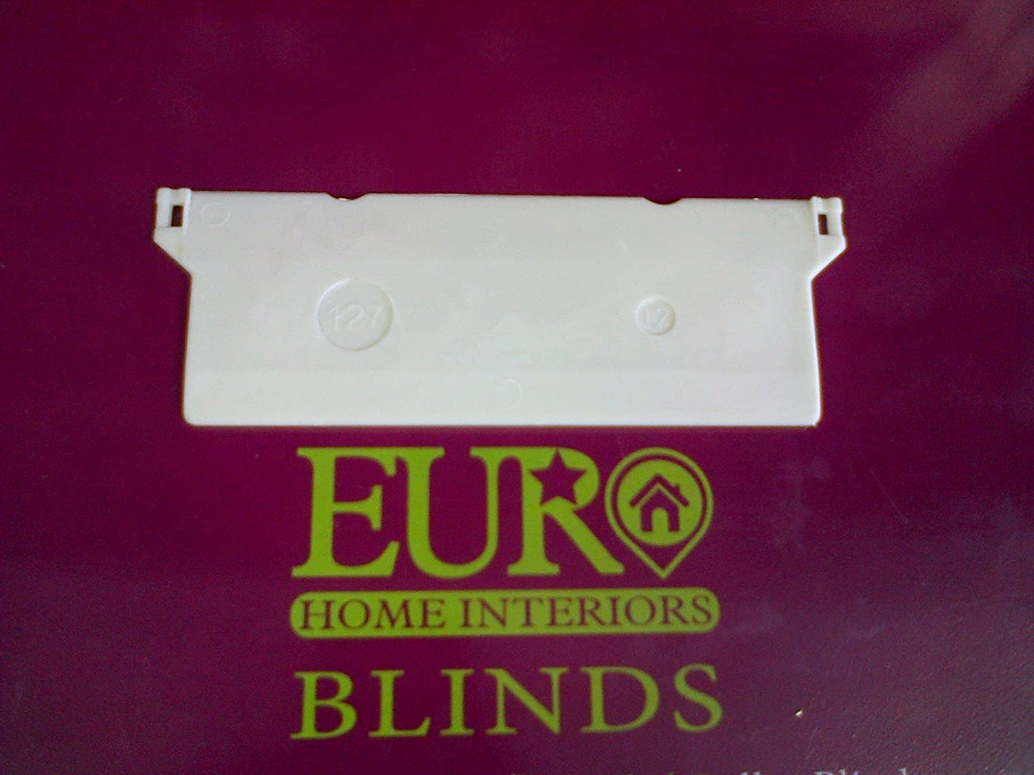 Home, Furniture & DIY Vertical Blind Bottom Weights 127mm 5  pack of X 8