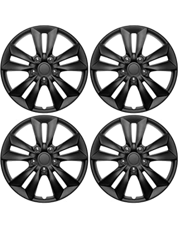 amazon hubcaps hubcaps trim rings hub accessories Old Chevy Hubcaps cover trend set of 4 universal hub caps 16 matte black
