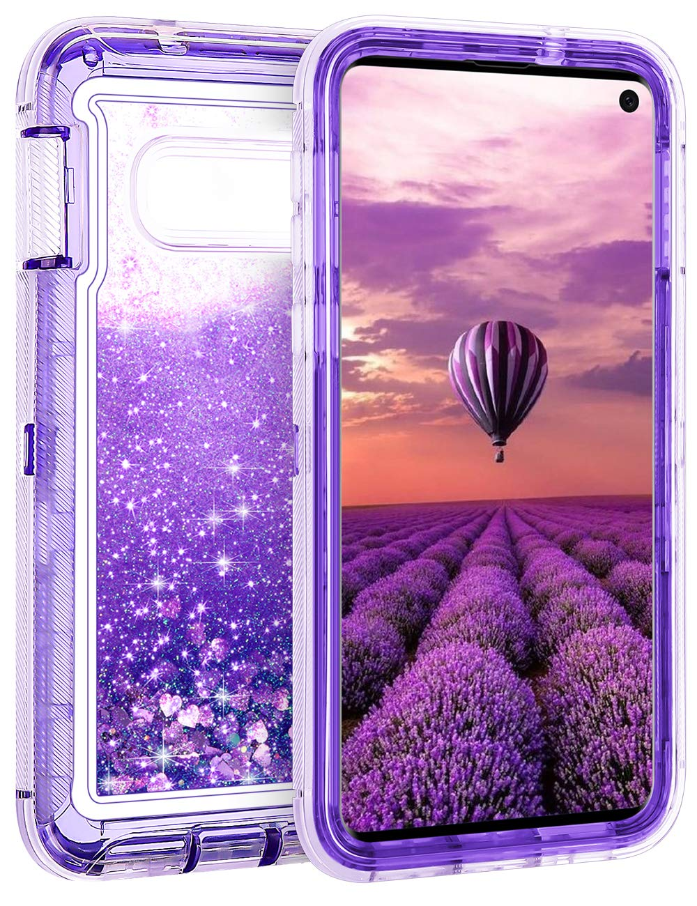 Funda Para Samsung S10e Glitter Coolden (7pjpcy1j)