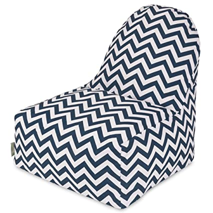 Amazon.com: Majestic Home Goods Chevron KICK-IT silla, M ...