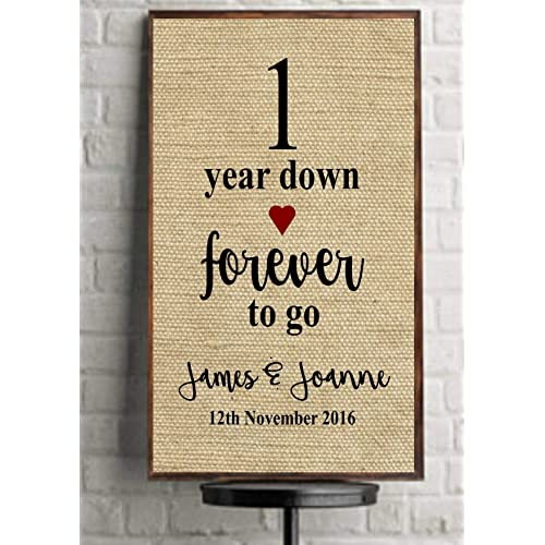 Ideas For First Wedding Anniversary Gift: Paper Wedding Anniversary Gifts: Amazon.co.uk