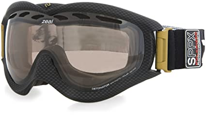 898f5bf2a351 Zeal Optics SPPX Detonator Snow Goggle with Spherical Polarized and  Photochromic Lens (Yellow/Rose