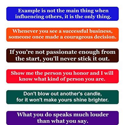amazon com leadership quotes fridge magnets inspirational words