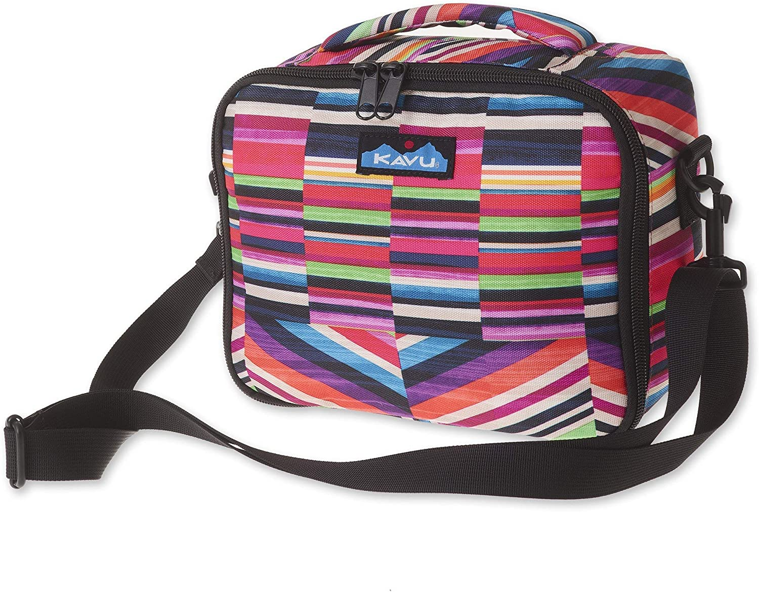 KAVU Lunch Box Insulated Padded Leak Proof Crossbody Meal Pack