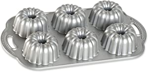 Nordic Ware Platinum Collection Anniversary Bundtlette Pan