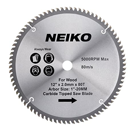 Neiko 10768a 12 carbide tipped miter saw blade 80 tooth neiko 10768a 12quot carbide tipped miter saw blade keyboard keysfo Image collections