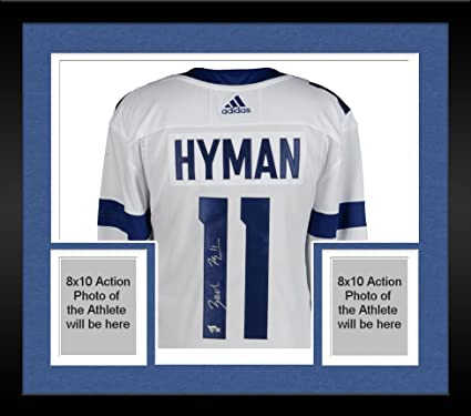 Framed Zach Hyman Toronto Maple Leafs Autographed 2018 Stadium Series  Adidas Authentic Jersey - Fanatics Authentic 87f051936