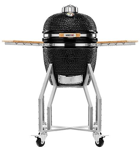Kamado Chef 1400 Prestige Diamond Black barbacoa parrilla de ...