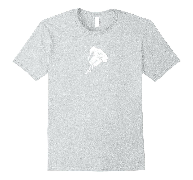 Rosebud T-shirt white-TJ