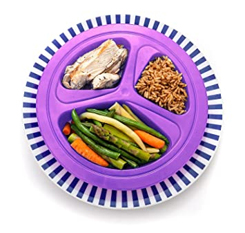 Amazoncom Portions Master Plate Diet Weight Loss Aid Food