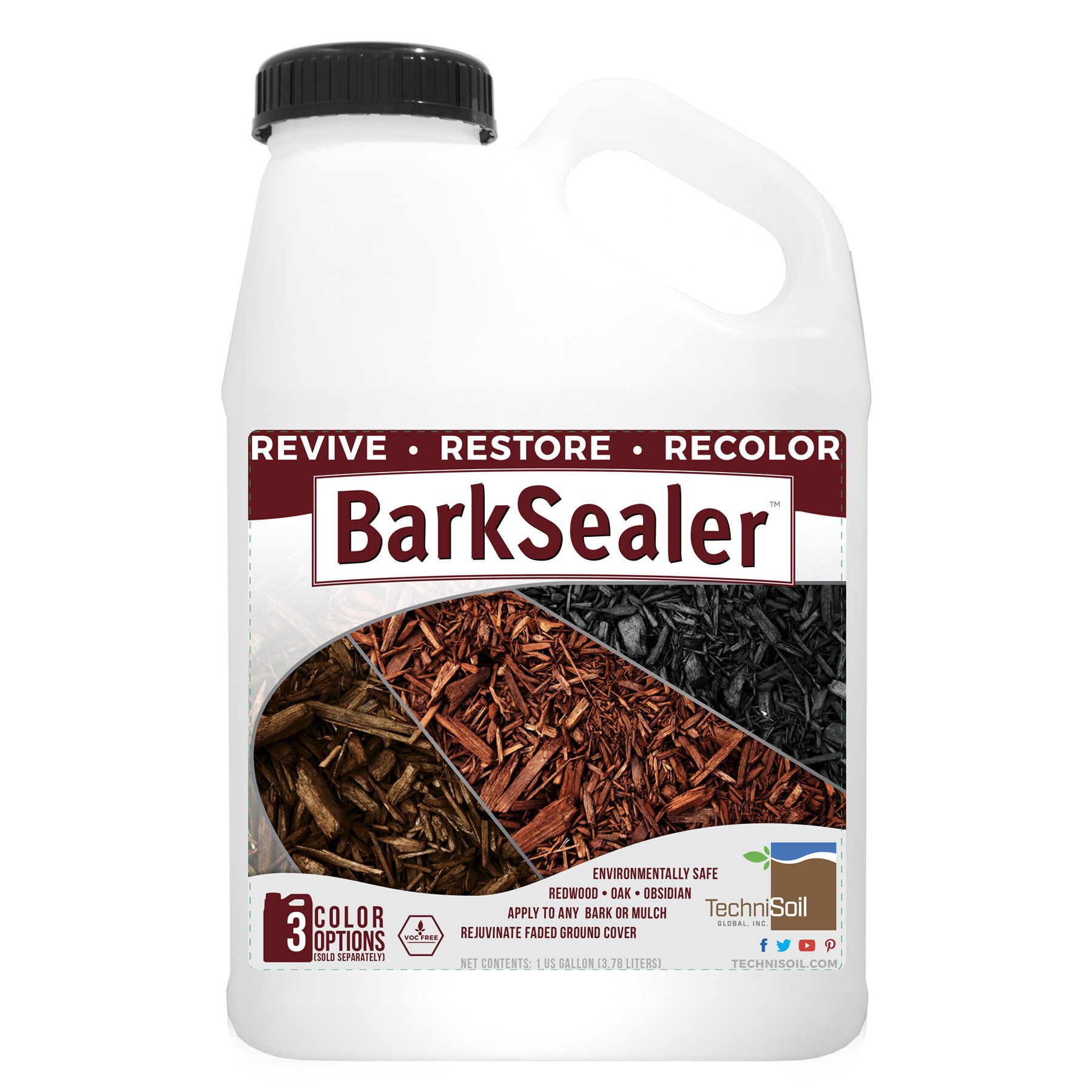 BarkSealer Mulch Color Enhancement & Protection (1-gallon bottle) by TechniSoil