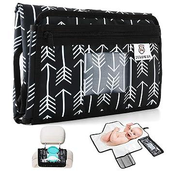 Amazon.com: Zeroway - Kit de cambiador de pañales portátil ...