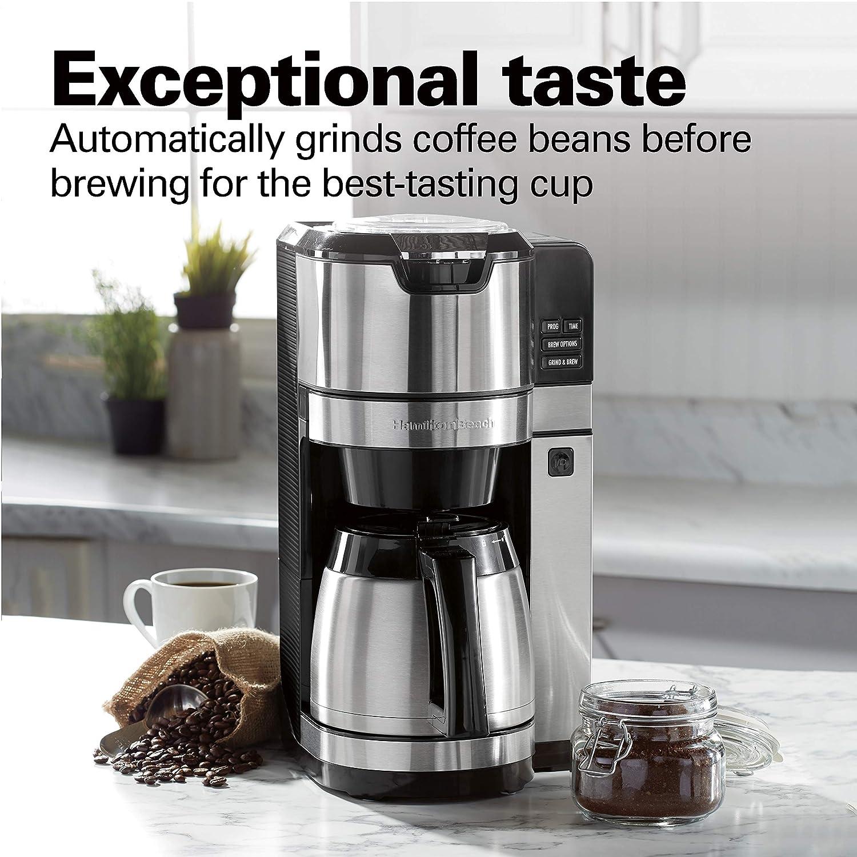 Amazon.com: Hamilton Beach 45501 - Cafetera programable con ...