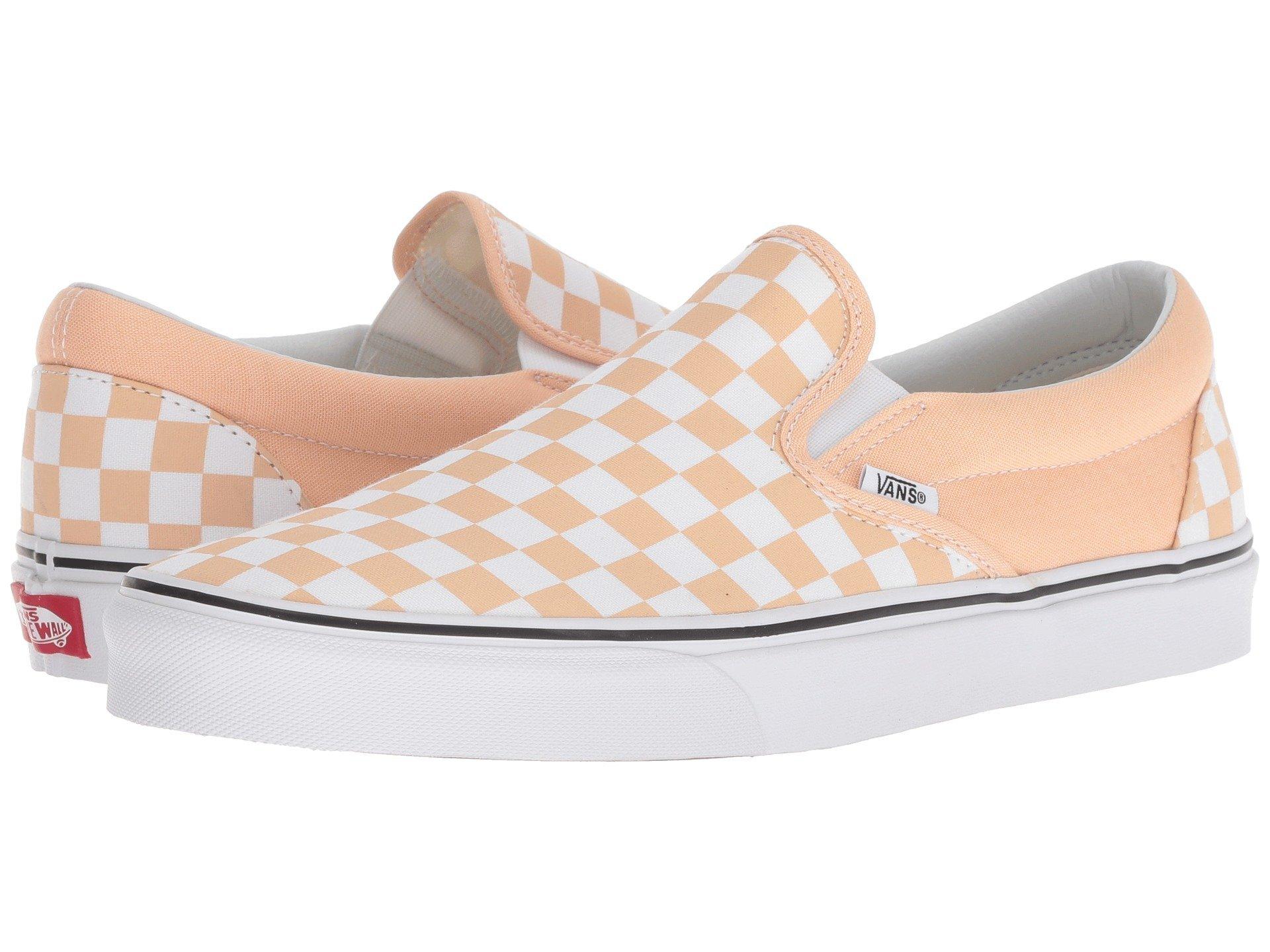 2b5db9f1a3 Vans Unisex Checkerboard Slip-On Skate Shoes (40.5 M EU   9.5 B(M) US Women    8 D(M) US Men