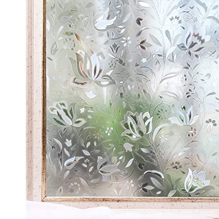 Cottoncolors Privacy Frosted Window Film No Glue 3d Static