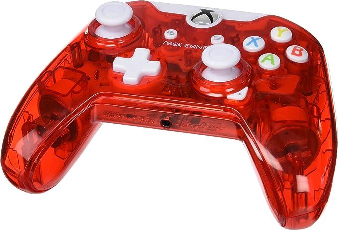PDP - Mando Con Cable Rock Candy, Licencia Oficial, Color Rojo (Xbox One): Amazon.es: Videojuegos