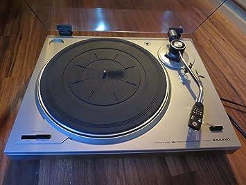 Amazon.com: Sanyo tp-1005 Turntable W/Audio Technica at-11e ...